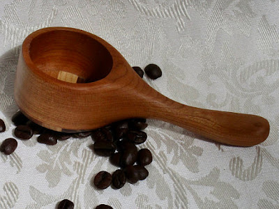 Cherry Coffee Scoop