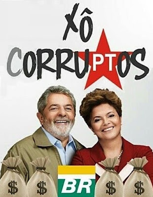 Escândalo no desvio de dinheiro da Petrobras e pedaladas fiscais. Impeachment de Dilma Rousseff.