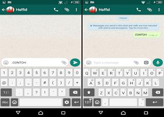 edit huruf di whatsapp menjadi miring