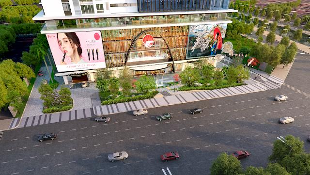Trung tâm mua sắm của Hinode City Minh Khai