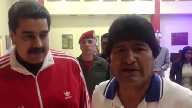 Los aliados de ALBA se reunieron anoche en el aeropuerto de Maiquetía, Caracas
