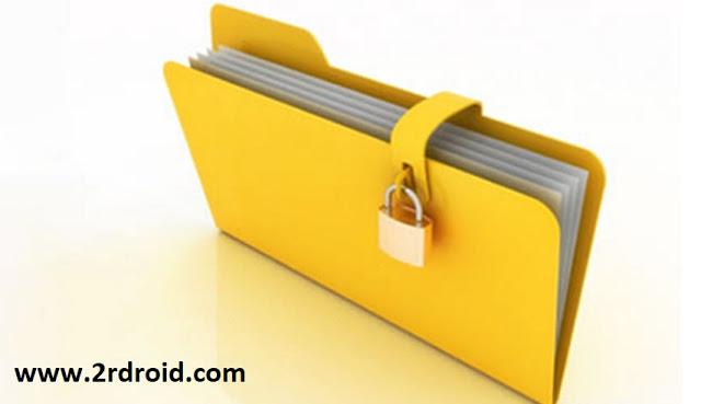 قفل الملفات و تشفيرها Folder Lock