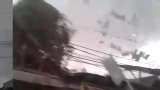 Puting Beliung Terjang Cirebon, 1 Orang Tewas, 9 Luka dan 165 Rumah Hancur