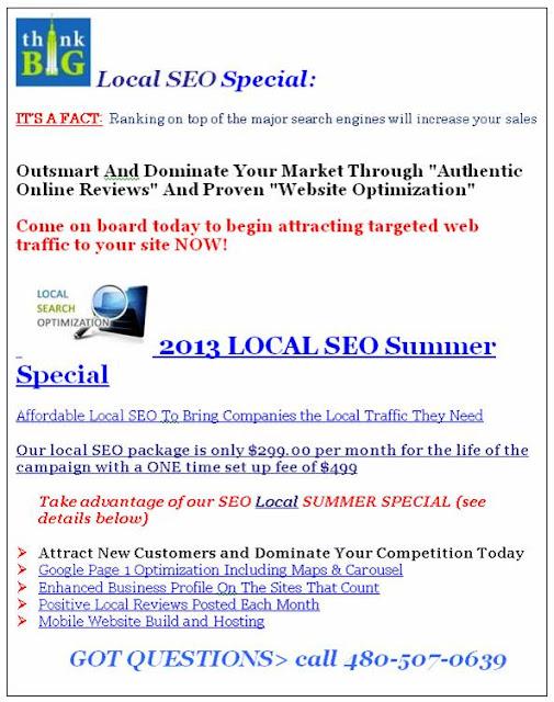 SEO Marketing-Sandi Parker-SparkerThinkBIG Blog Spot