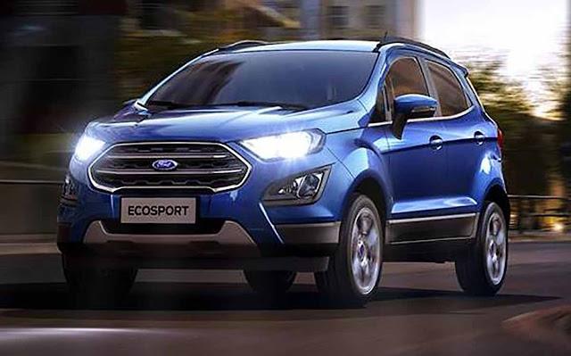 Novo Ford EcoSport 2018 - Brasil