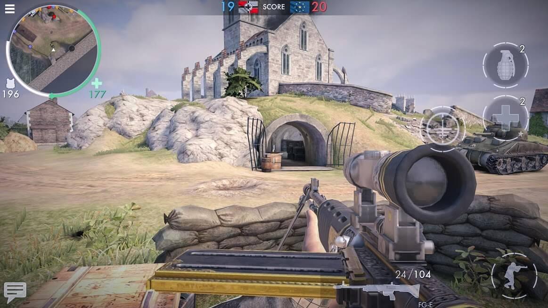 World War Heroes APK MOD Munição Infinita 2021 v 1.26.0 b100474