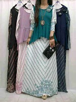 Gamis Denim + Jersey SOLD OUT
