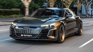 Audi E-Tron GT concept car