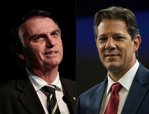 Bolsonaro, com 58% dos votos válidos, tem 16 pontos de vantagem sobre Haddad, diz Datafolha