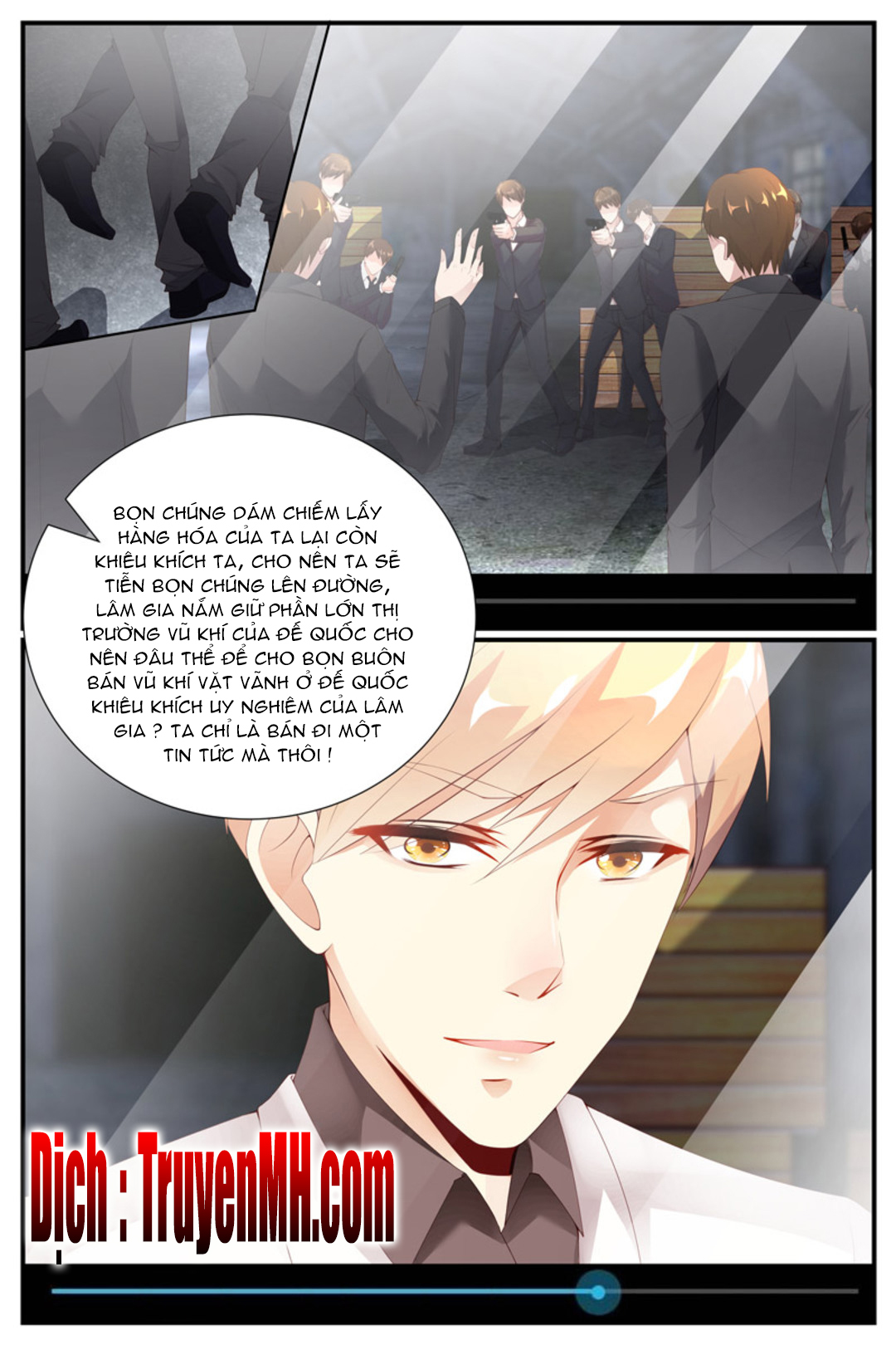 Kiều Thê Thái Điềm, Đế Thiếu Sủng Thượng Thiên - Chap 32