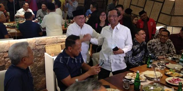 Mahfud MD beberkan kronologi dirinya batal jadi cawapres Jokowi