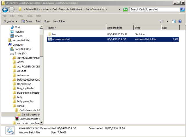 Begini Caranya Mengambil Screenshot di Android Melalui PC (Windows).