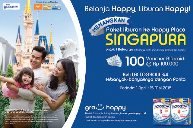 Paket Liburan ke Singapura untuk 1 keluarga