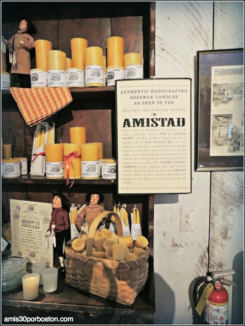 Yankee Candle Village: Película Amistad en el Candle Museum