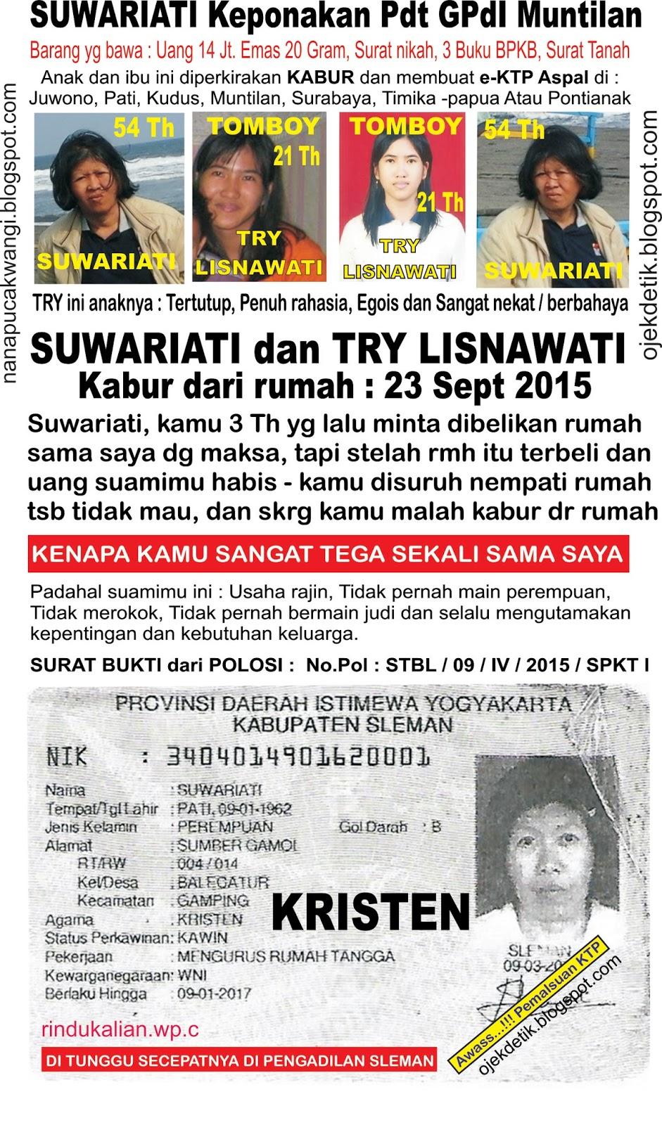 anak hilang  penculikan  e  aspal  istri kabur  ipar yg jahat  timika  surabaya