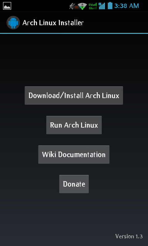 How to install Archlinux ARM on Any Android Phone/Tablets via Chroot Mode