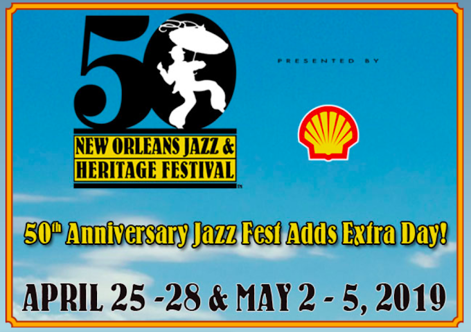 50th Anniversary Jazz Fest Adds Extra Day