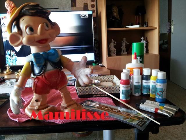 Pinocho de Famosa