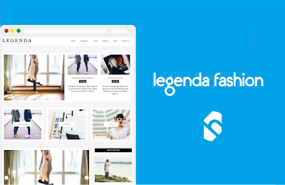 Legenda Fashion Template