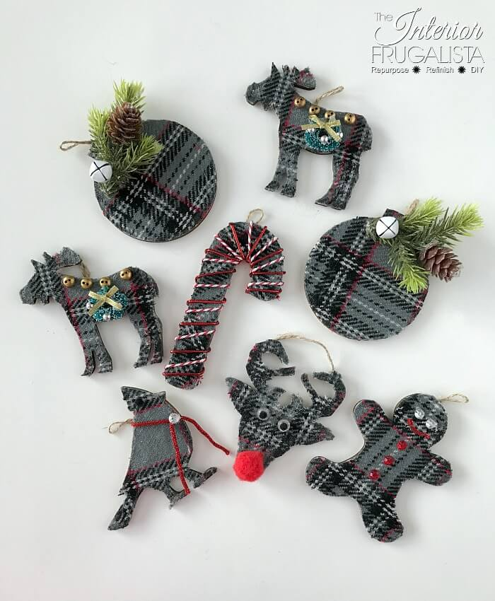 Eco Friendly Holiday Ornament Gift Tags Decorated