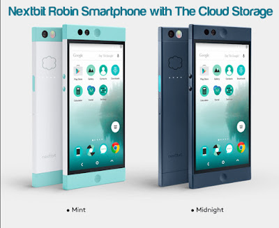 Nextbit Robin Smartphone with The Cloud Storage
