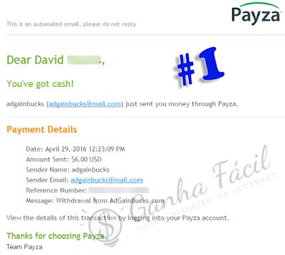 adgainbucks pagamento payout payment payza ptc