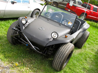Dune Buggy with bedliner paint job