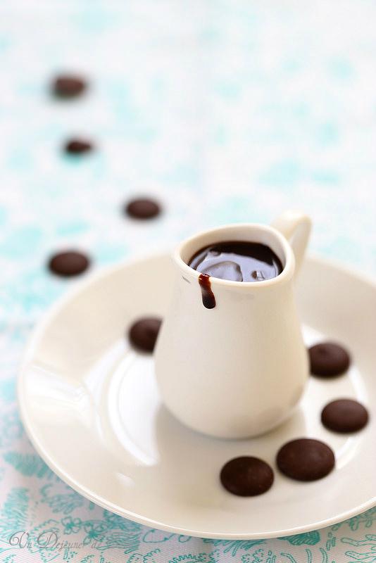 Sauce au chocolat à l'eau (sans laitages)