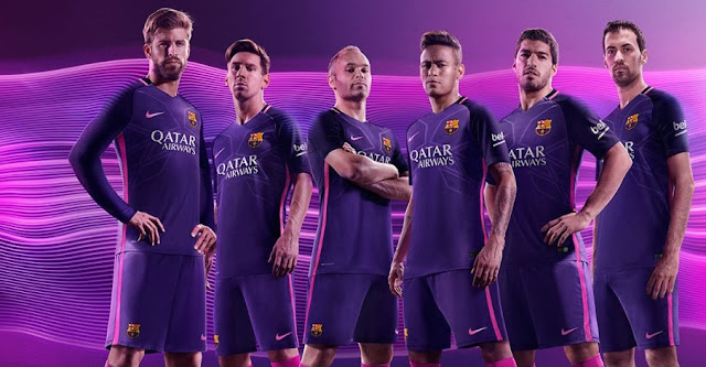 Barcelona 2016-17 Away Jersey Online Purchase