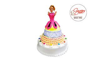 Gorgeous Barbie Cake - 3KG
