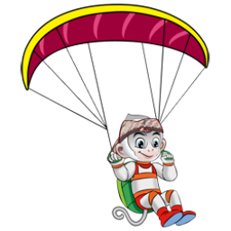 Logo dan Lambang Cabang Olahraga PON Jabar 2016 Paralayang