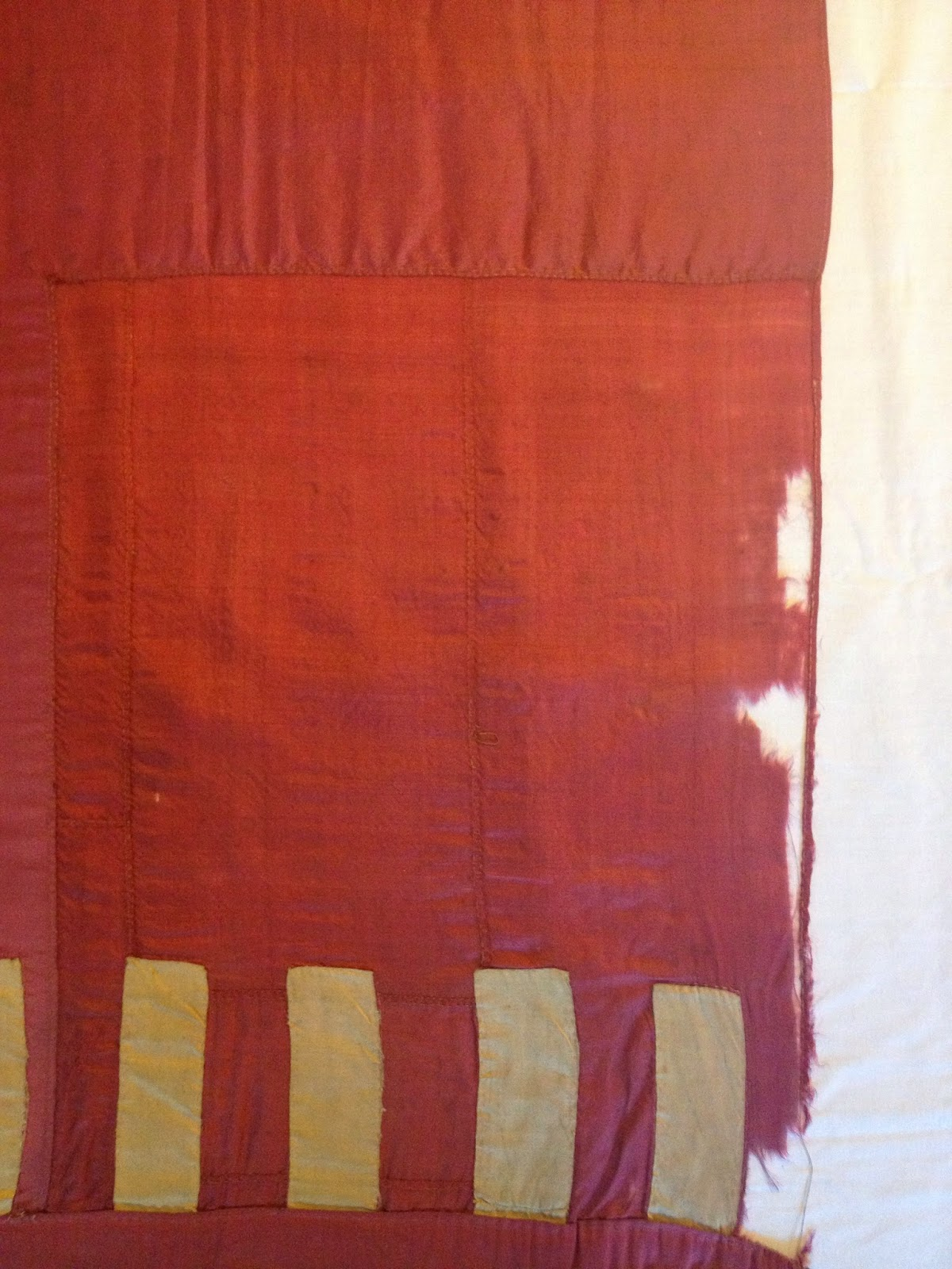 Gwen Spicer flag conservator, pre-revolutionary war, framing mounting and repair of historic flags