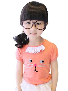 model baju anak warna orange tahun 2018