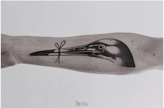 клюв татуировка