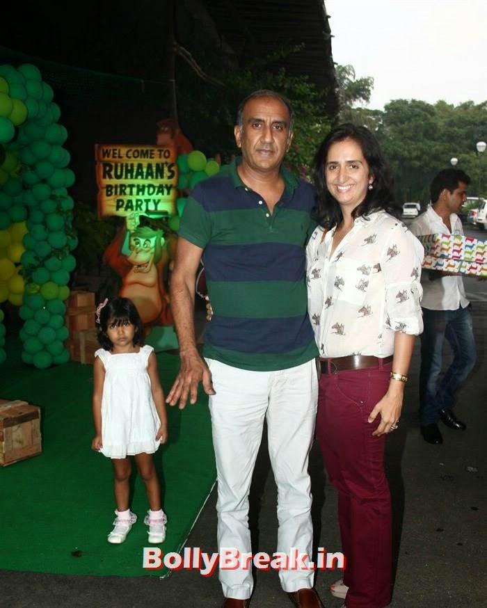 Milan Luthria, Lianne, Divya Khosla Kumar's son Ruhaan's Birthday Bash