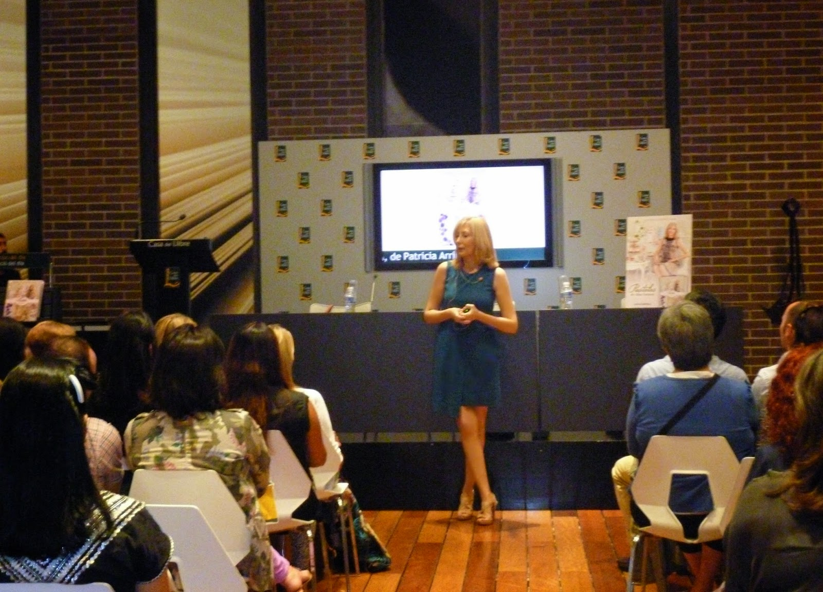 Patricia Arribálzaga Presentación libro Pasteles de Alta Costura