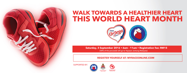 Walk towards a healthier Heart!
