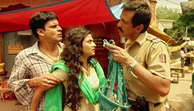 Manoj Bajpayee, Aditi Sharma, and Kay Kay Menon in Saat Uchakkey