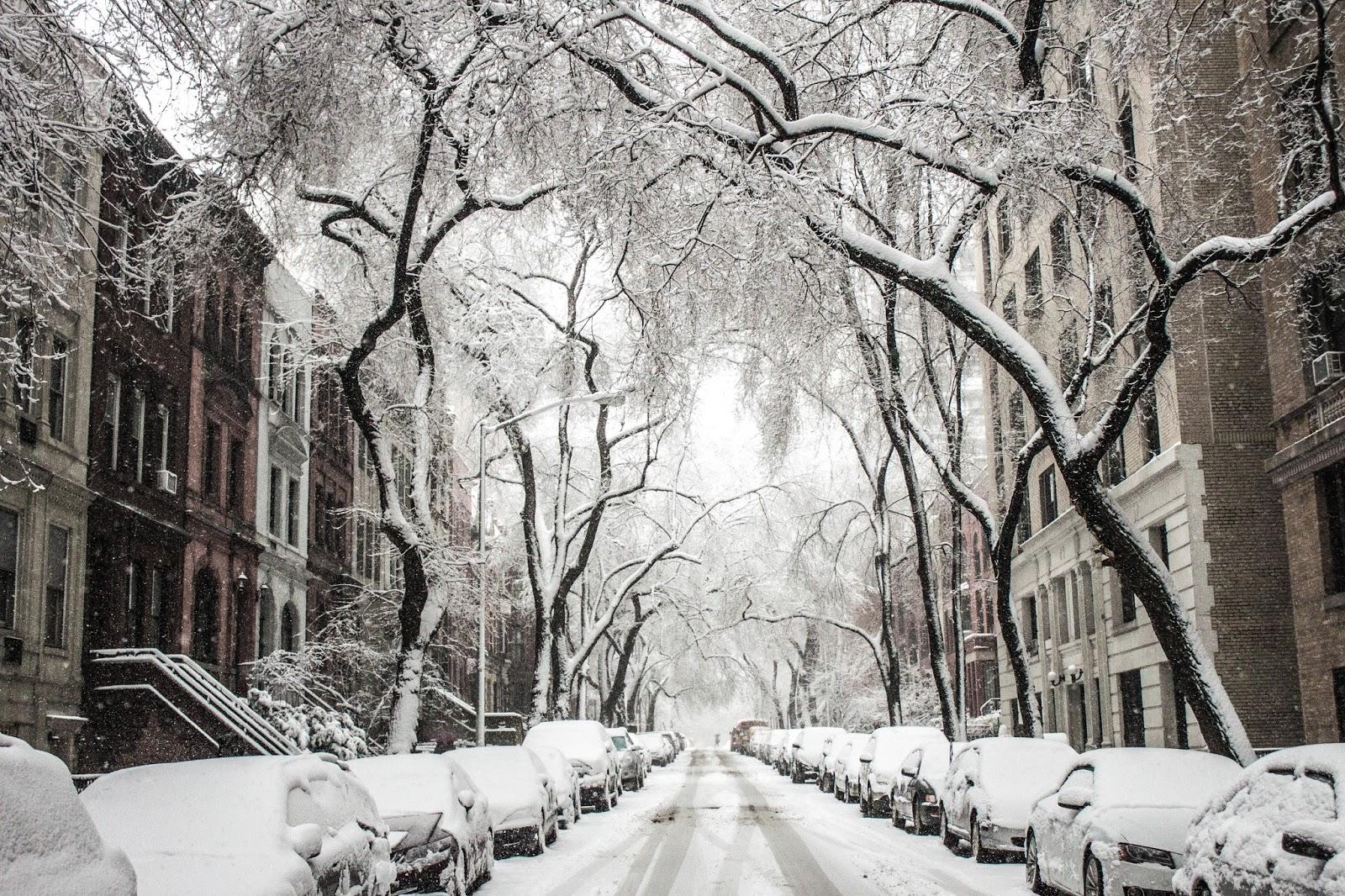 Kiedy spadnie pierwszy śnieg..