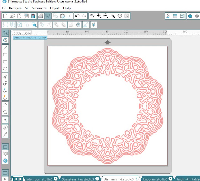 Doily from Silhouette Design Store