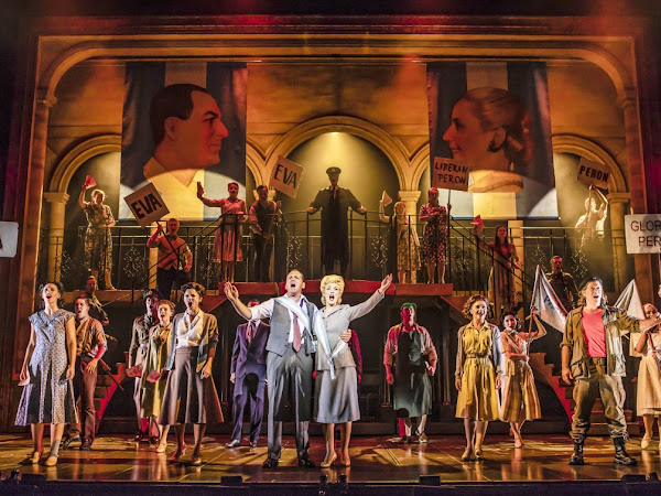 Evita (UK Tour), New Victoria Theatre | Review