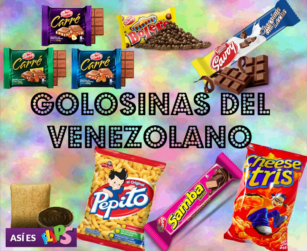 Golosinas que todo Venezolano ha probado alguna vez. | La Cajita ...
