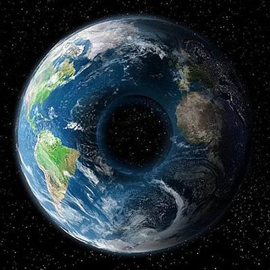 'Terra Rosquinha' - nova teoria depois da Terra Plana