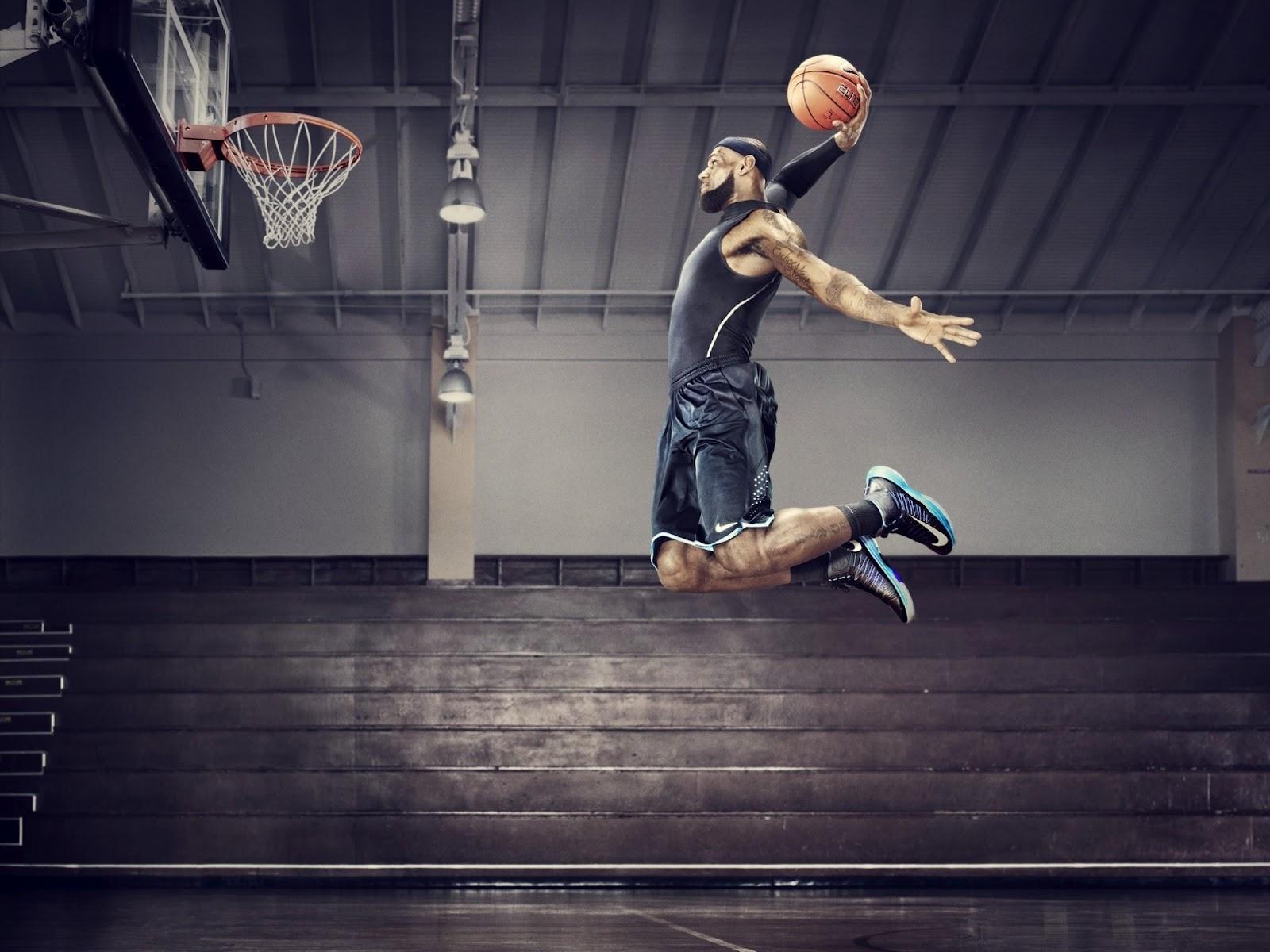 He99 Lebron James Dunk Nba Sports Art Basketball: Dunk Wallpaper