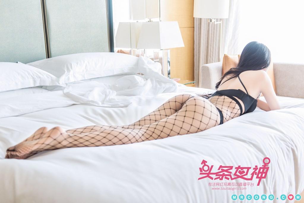 Image TouTiao-2017-10-05-Ru-Yi-MrCong.com-008 in post TouTiao 2017-10-05: Người mẫu Ru Yi (如意) (26 ảnh)