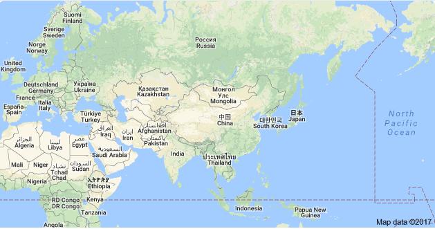 49+ Daftar Nama Negara di Benua Asia Berikut Ibukotanya