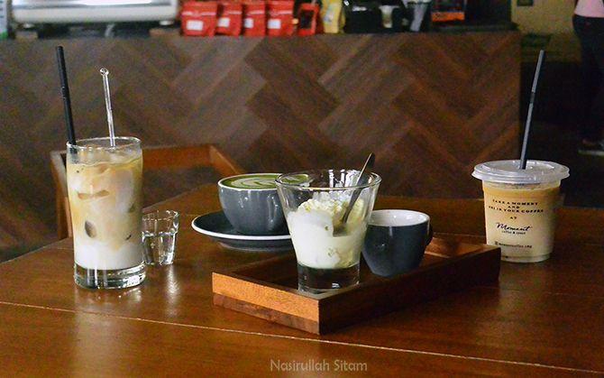 Menikmati akhir pekan di Moment Coffee & Space Semarang