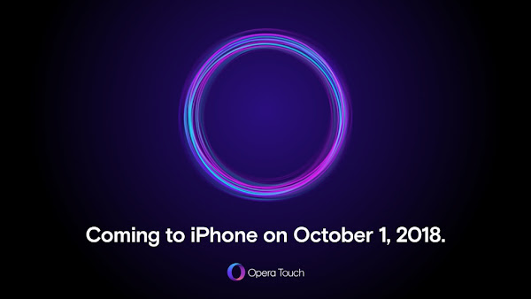 Opera Touch for iOS coming on October 1