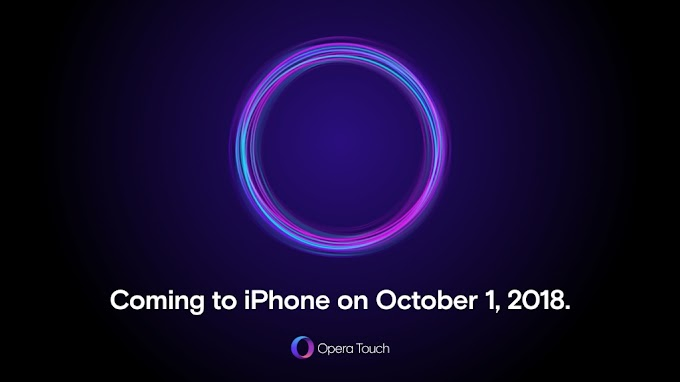 Opera Touch for iOS coming on October 1, private beta available today