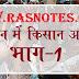 Rajasthan GK- History of kisan andolan in rajasthan